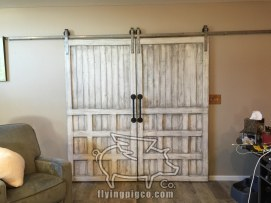 ANTIQUE WHITE FRENCH DOORS 7