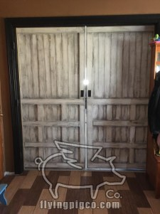 ANTIQUE WHITE FRENCH DOORS 8