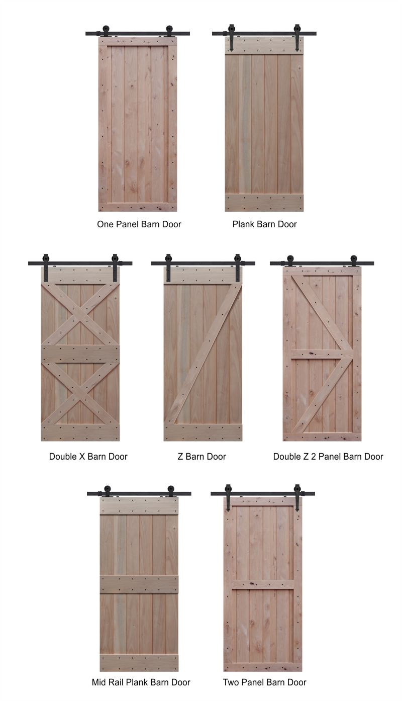 Sample Options For Sliding Barn Doors Flying Pig Co