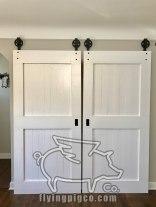 CLASSIC WHITE DOUBLE DOORS 6