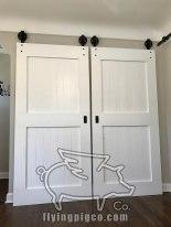 CLASSIC WHITE DOUBLE DOORS 7