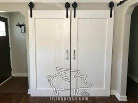 CLASSIC WHITE DOUBLE DOORS