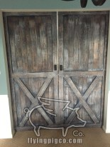DISTRESSED FRENCH DOUBLE DOORS 3
