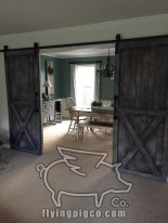 DISTRESSED FRENCH DOUBLE DOORS 4