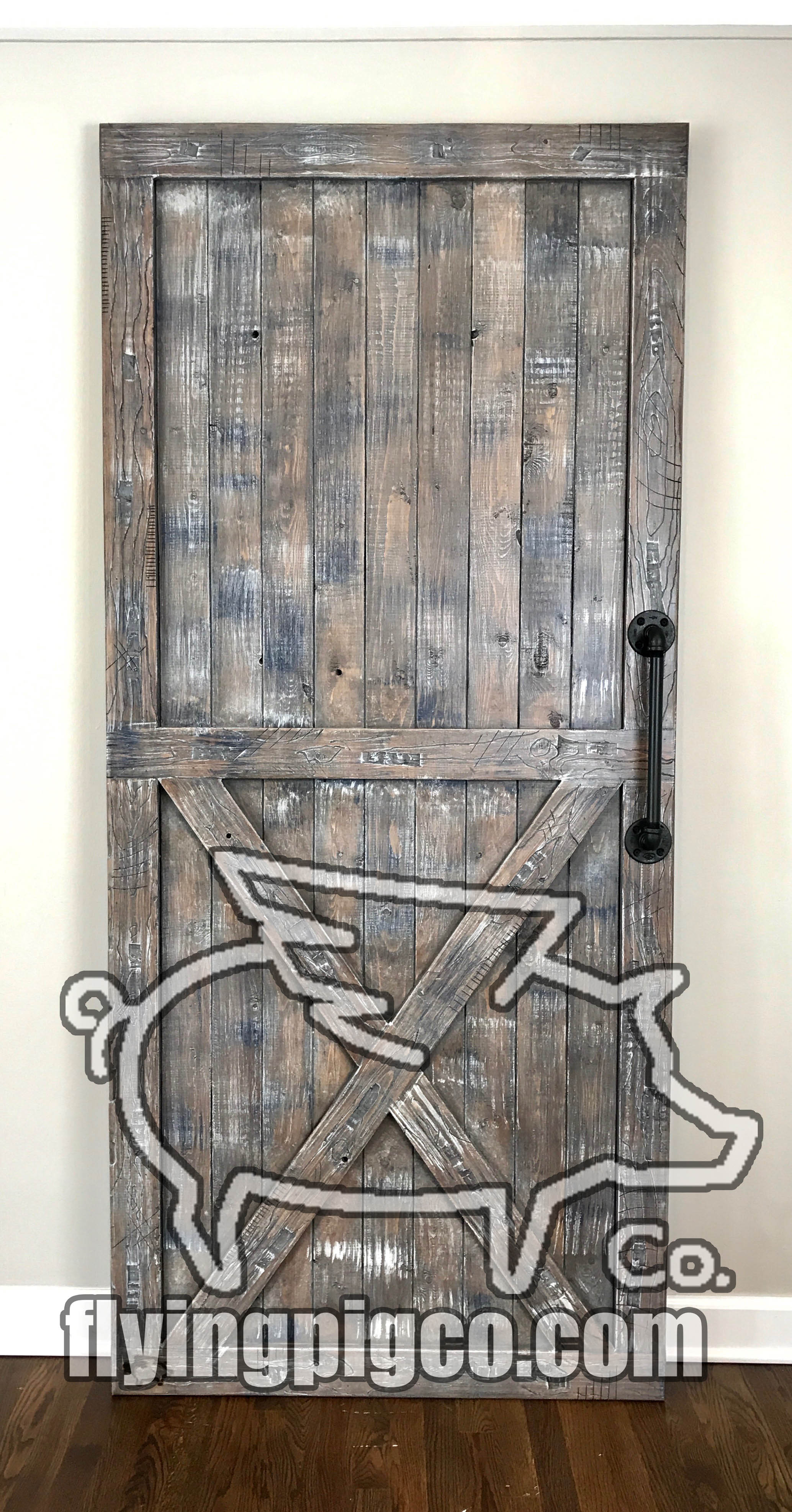 Flying Pig Co Custom Interior Sliding Barn Doors