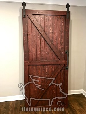 SOLID STAIN DOOR 4