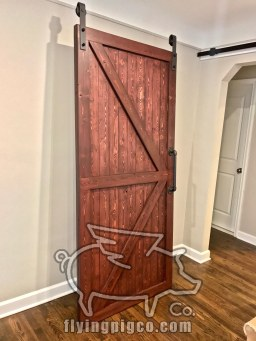 SOLID STAIN DOOR 7