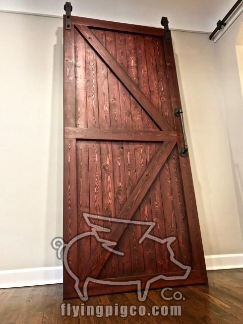 SOLID STAIN DOOR 8