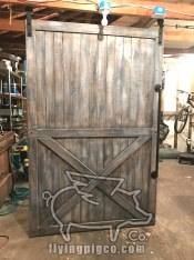 TRADITIONAL DISTRESSED DOOR 12