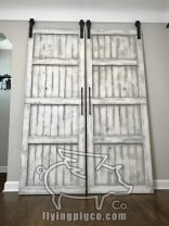 WHITE DISTRESS FRENCH DOORS 3