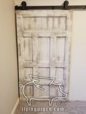 WHITE DISTRESSED DOOR 13