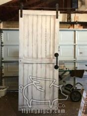 WHITE DISTRESSED DOOR 9