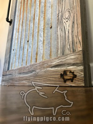 DISTRESSED METAL DOOR 6