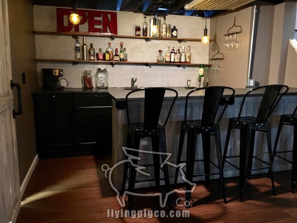 Installed Bar Front & Door