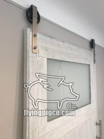 FROSTED GLASS WINDOW DOOR