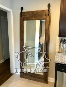 SOLID STAIN MIRROR DOOR 3